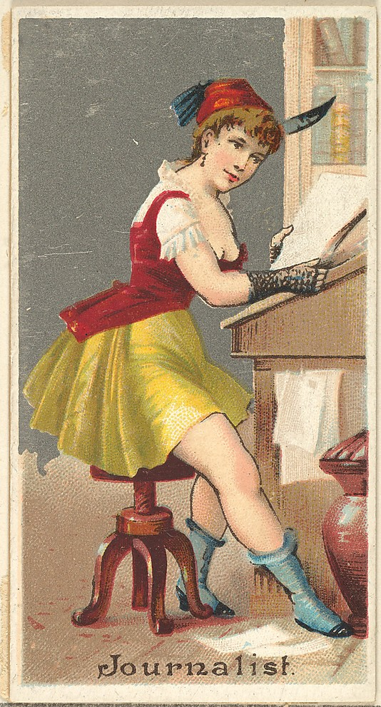 Female Journalist 1887