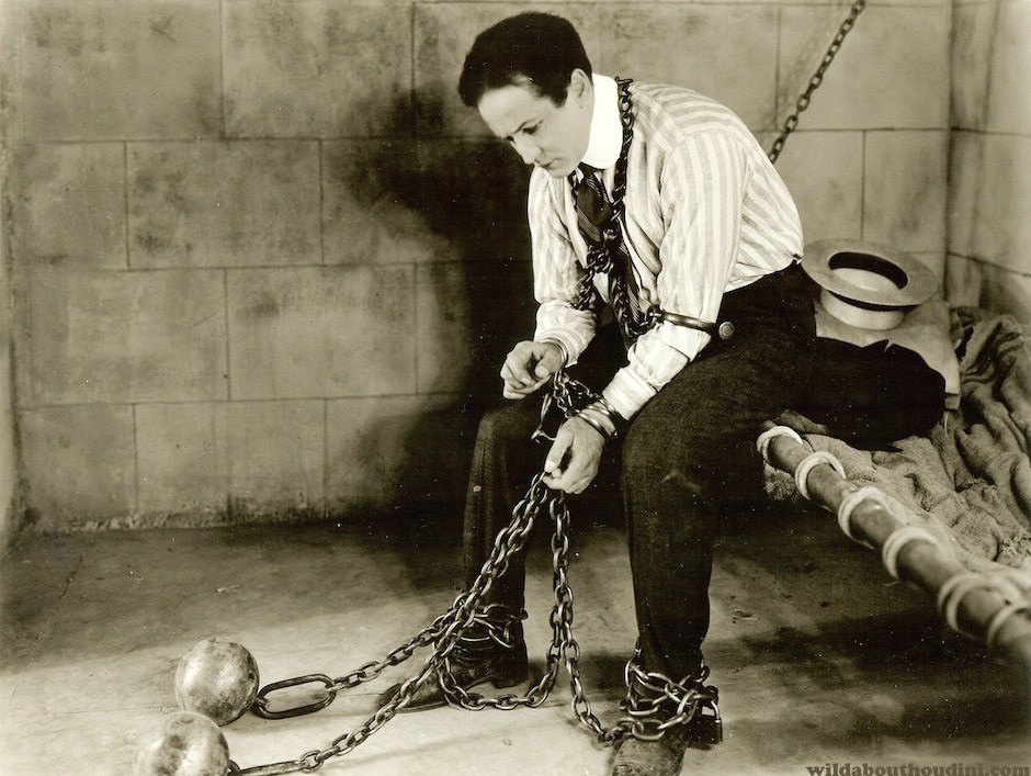 Harry Houdini as journalist